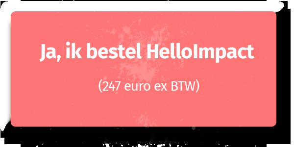 HelloImpact: onweerstaanbaar schrijven voor je business